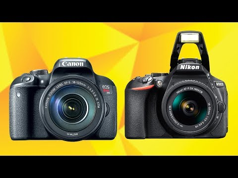 Canon T7i vs Nikon D5600 - 1st DSLR Mostly for Portraits (What to Buy?)
