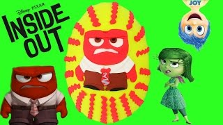 Disney Pixar's Inside Out Anger Play Doh Surprise Egg! Shopkins, Funko Mystery Mini Blind Boxes and