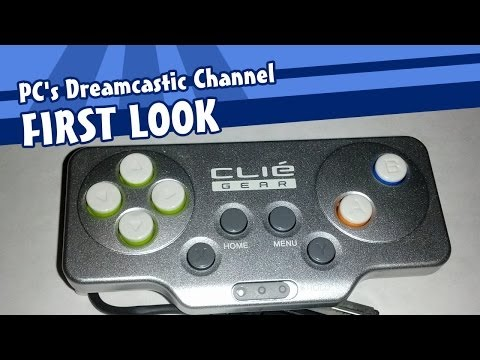 First Look: Sony Clié Game Controller