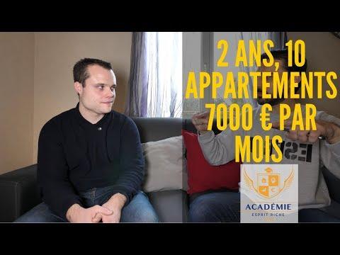 7000 € de revenus nets en 2 ans