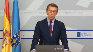 """Feijóo ve """"ridículo"""" criticar el envío de material a Madrid"""