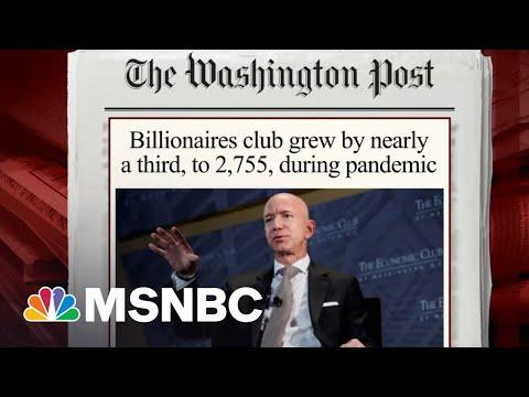Steve Rattner: During The Pandemic, The Top One Percent Prospered | Morning Joe | MSNBC