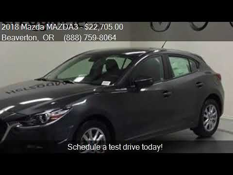 2018 Mazda MAZDA3 Sport 4dr Hatchback 6A for sale in Beavert