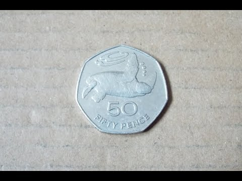 St Helena 50p Coin!