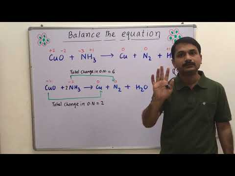 Simple Trick To Balance Redox Equation By Oxidation Number Method