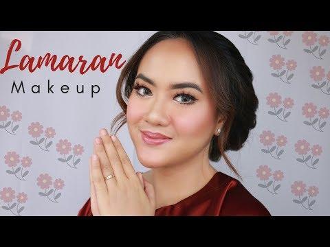 MAKEUP LAMARAN KU - Engagement Make Up Sendiri di Rumah - YouTube