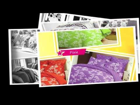 SPREI DAN BED COVER KOLEKSI AZZRA COLLECTION