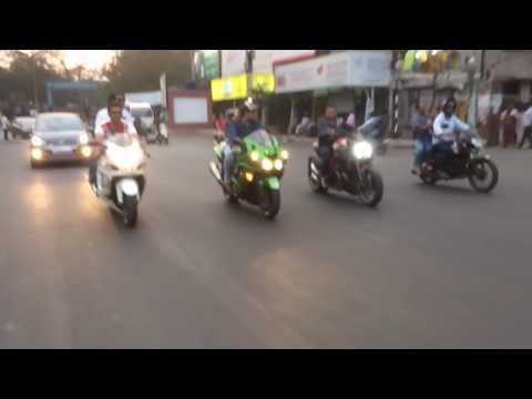 Indian traffic (Hyderabad)