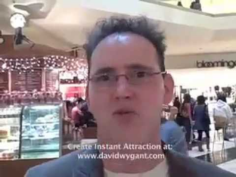 Picking up girls at the mall