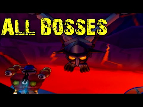 Sly Cooper and the Thievius Raccoonus - All Bosses (No Damage)