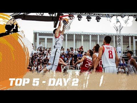 Top 5 - Day 2 - FIBA 3x3 U18 World Cup 2017