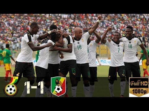 Ghana Vs Congo 1-1   All Goals World Cup Qualification CAF -  1/9/2017
