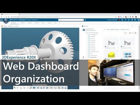 Web Dashboard Organization - 3DExperience R2020x Cloud thumbnail