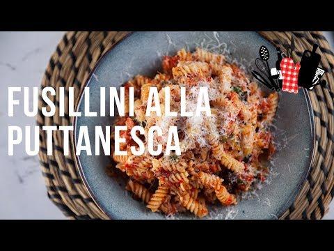 Fusillini Alla Puttanesca | Everyday Gourmet S9 EP21