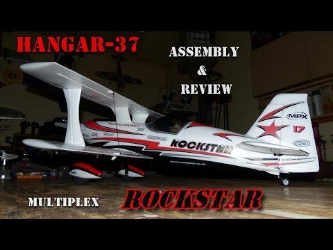 MULTIPLEX ROCKSTAR-Assembly & Review