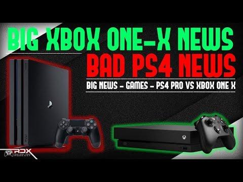 BIG Xbox One X News! GT Sport Review Bombs, Xbox Update, EA Kills Visceral Games, Bad PS4 News - RDX
