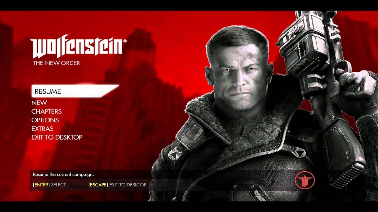Wolfenstein New Order Graphics Fix