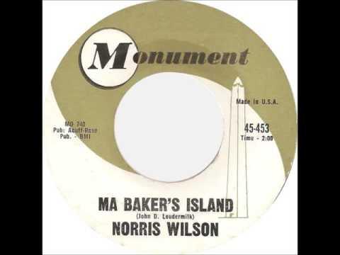 Norris Wilson - Ma Baker's Island