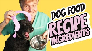 Essential Ingredients for Homemade Dog Food
