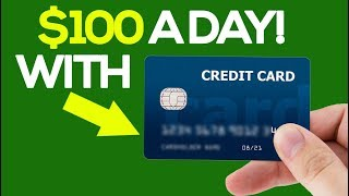 Second channel: https://bit.ly/2lxympm in this video i show you how can make $100 per day with credit card offers and .. so method does inclu...