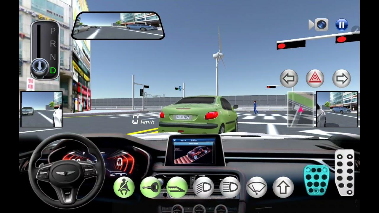 3D 운전교실 제네시스 주행 영상