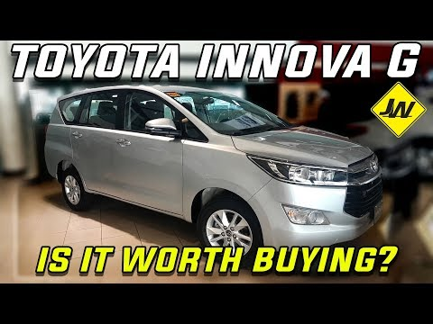 2019 Toyota Innova G diesel AT review -Philippines