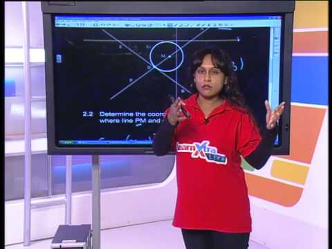 Gr 12 Maths: Analytical Geometry (Live)