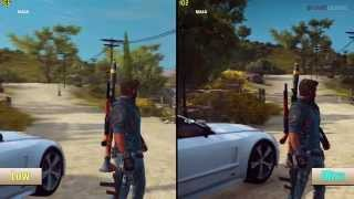 Just Cause 3 PC Performance Ultra Vs Low Graphics Benchmarks