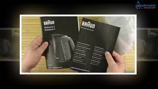 Braun WK300 1.7-Liter Electric Cordless Water Tea Kettle Review