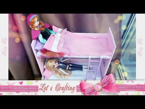 Видео кровати двухэтажные для кукол