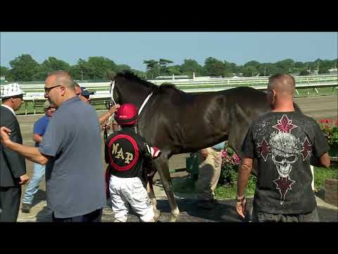 video thumbnail for MONMOUTH PARK 7-7-19 RACE 9 – JERSEY GIRL HANDICAP