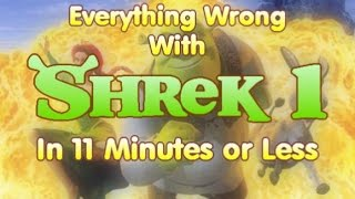 Everything Wrong With Shrek in 11 Minutes or Less (re-upload)