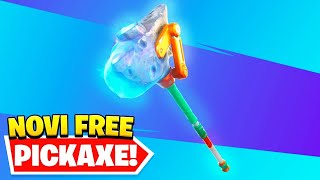 🔴KAKO DOBITI FREE PICKAXE I VBUCKS U FORTNITE SAD!!