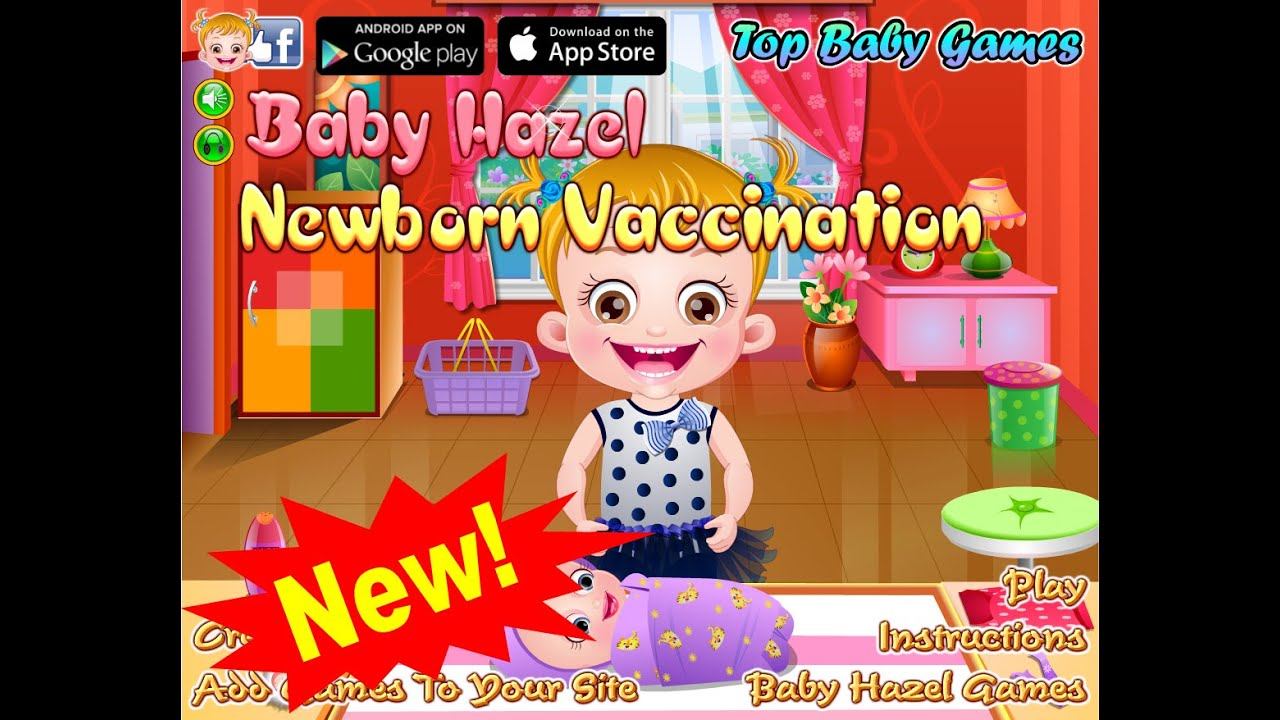 Baby Hazel Newborn Vaccination - Dora the Explorer - Baby ...