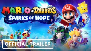Mario + Rabbids: Sparks of Hope - Official Cinematic Reveal Trailer   E3 2021
