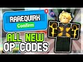 - 2021 ALL *NEW* SECRET OP CODES!  🏋️ Roblox One Punch Reborn Codes 🏋️