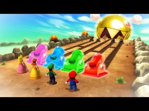 Mario Party 9 Boss Rush - Mario Vs Luigi Vs Wario Vs Waluigi (Master Cpu)