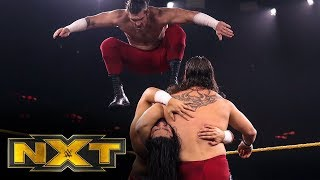 The Forgotten Sons vs. Adrian Alanis & Leon Ruff: WWE NXT, Dec. 4, 2019