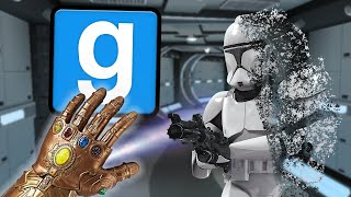 Infinity Gauntlet Crashes the Server (Gmod Star Wars RP Trolling)