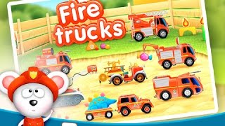 Fire Trucks: 911 Rescue   Fire Truck Game App For Toddlers