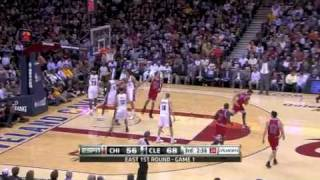 Cleveland Cavaliers vs  Chicago Bulls Playoff 2010 Game 1