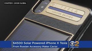 Russian Company Unveils $4.5K Solar-Powered IPhone X thumbnail