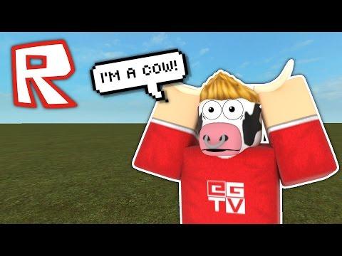 I'M A COW! | Roblox Parody