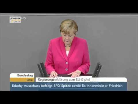 Angela Merkel on Brexit (English Subtitles) - 18/06/2015