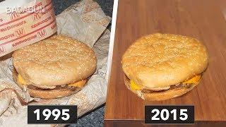 Guardó una hamburguesa por 20 años y el resultado fue aterrador