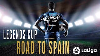 ROAD TO SPAIN | Legends Cup India Official | Laliga | Documentary