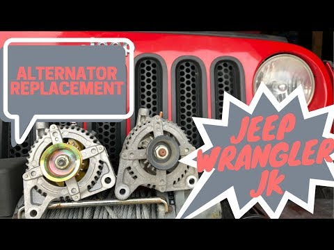 Jeep Wrangler JK/JKU | DIY Alternator Replacement | Whining noise!?