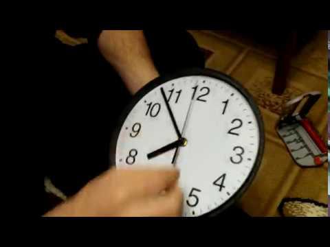 Ремонт кварцевых настенных часов своими руками