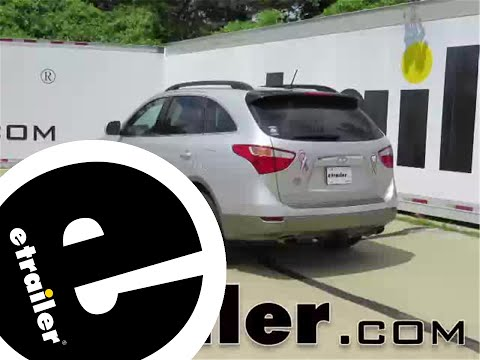 trailer wiring harness installation - 2012 hyundai veracruz - etrailer com  - youtube