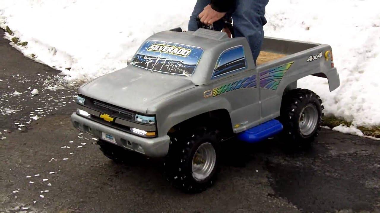 Chevy Power Wheels >> 110cc Chevy Silverado Power Wheels
